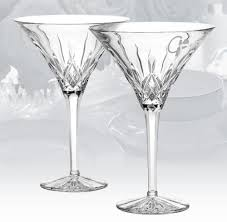 martini diamond waterford lismore diamond martini glasses crustpizza decor