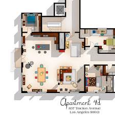 tv show apartment floor plans new girl tv show apartment floor plan new girl tv show layout