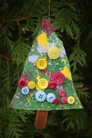 button tree ornaments happy hooligans kid s craft