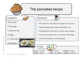 recette de cuisine ce1 recette en anglais des pancakes so mmesuzan