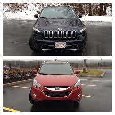 tucson jeep comparison 2014 jeep cherokee limited vs 2014 hyundai tucson gls