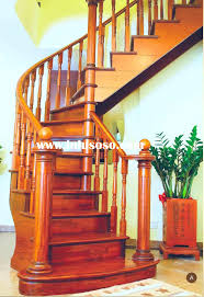 home design wooden spiral staircase with slide tray ceiling