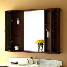 Bathroom Medicine Cabinets With Mirrors Recessed Oak Medicine Cabinet With Mirror Vintage Medicine Cabinet Wood