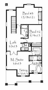 Second Story Floor Plans by Craftsman House Plans Home Design M 2019