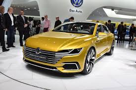 volkswagen geneva volkswagen sport coupe concept gte live images video from geneva