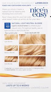 amazon com clairol nice u0027n easy hair color 103 natural light