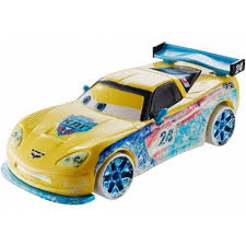 jeff corvette disney pixar cars racers jeff gorvette toys r us