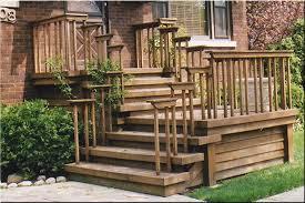 Wooden Front Stairs Design Ideas Front Entrance Wooden Steps Steep Porches Decks Patios Delta