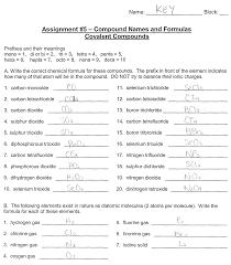 Naming Chemical Formulas Worksheet Science 09 Worksheets Mr Lo