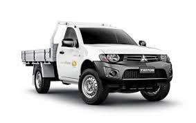 mitsubishi mini trucks mitsubishi triton 4wd 2 door tray u2013 surefleet