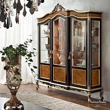 China Decorations Home by Classic China Cabinet Wooden Casanova 12102 Modenese Gastone