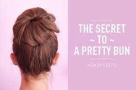 sock bun hair how to do a sock bun beautylish