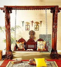 Home And Decor India Indian Carved Timber Jhoola Swing Rusticfurniture Furnitureporn