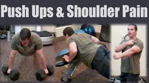 My Shoulder Hurts When I Bench Press Shoulder Pain From Push Ups Try This Youtube
