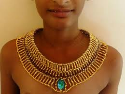 beaded collar necklace jewelry images Spectacular egyptian beaded collar necklace tutorial the beading jpg