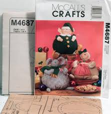 mccall u0027s 4687 christmas crafts sewing pattern