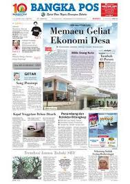 ladari pesaro harian pagi bangka pos edisi 17 januari 2010 by bangka pos issuu