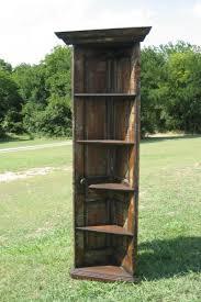 Door Bookshelves by Diy Old Door Projects Corner Bookshelf From An Old Door So Cool