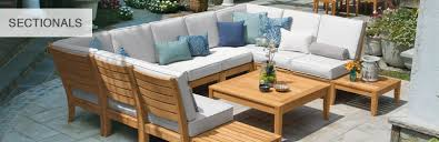 Teak Sectional Patio Furniture by Teak Furniture Sectionals Outdoor Sectionals Country Casual