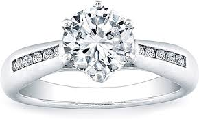 Crown Wedding Rings by Vatche Channel Set Royal Crown Engagement Ring 15ct Tw 120