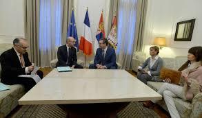 chambre de commerce franco serbe l ambassadeur et le président vucic évoquent l amitié franco serbe