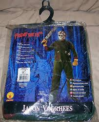 Kids Jason Halloween Costume Friday 13th Jason Voorhees Costume Kids Medium Rubies