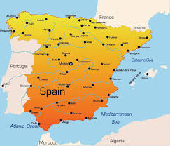 map of spain map of spain major tourist attractions maps