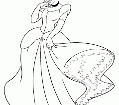cinderella coloring coloring pages adresebitkisel
