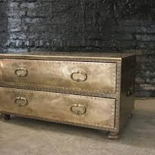 Chest Coffee Table Sarreid Brass Two Drawer Chest Or Coffee Table The Savoy Flea