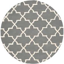 Round Rugs At Target by Artistic Weavers Metro Riley Violet 6 Ft X 6 Ft Round Indoor