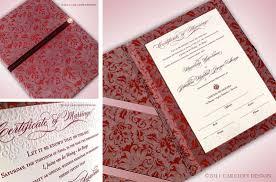 wedding certificate holder custom marriage certificate luxury wedding invitations los