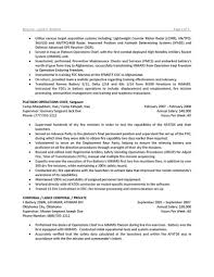 Resume Templates For Military To Civilian Usajobs Resume Template Military Examples Logistics Federal Bu