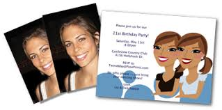 birthday party invitations for twins