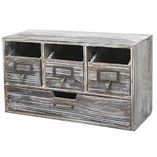 amazon com rustic brown torched wood finish desktop office