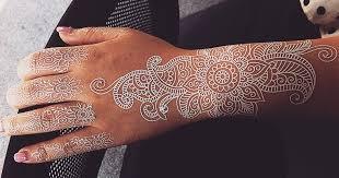 flash tattoo jobs stunning white henna inspired tattoos that look like elegant lace