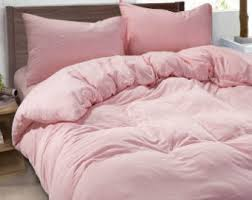 light pink twin bedding pink bedding etsy