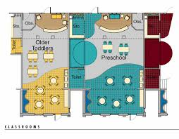 floor plan for kindergarten classroom bombeck family learning center designshare projects
