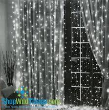 Led Light Curtain Twinkle Light Curtains Best 25 Curtain Lights Ideas On