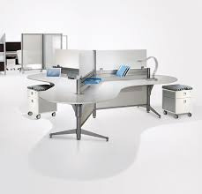 up 3 pod workstation cat cubicles and systems mb contract