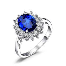 ring diana jewelrypalace created blue sapphire engagement princess diana kate