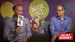 motocross disney movie cast the cast of inside out gets emotional disney video