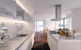 kitchen room easy modern open kitchen design with white cabinet
