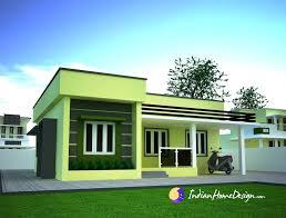 home design small single floor simple home design by niyas