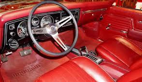 1969 Chevelle Interior 1969 Chevrolet Chevelle Ss396 U2013 Garnet Red U2013 A U0026e Classic Cars