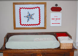 Diaper Changing Table by Vintage Diaper Changing Station Yankee Homestead