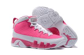 womens pink boots sale retro s basketball team 9 generations white