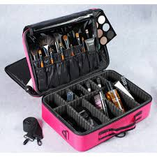 hair and makeup storage pro makeup compartment bag travel bag makeup organizer