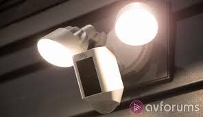 ring security light camera ring floodlight cam review avforums
