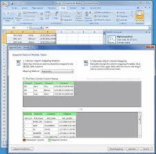 Change Table Name In Mysql Mysql Mysql For Excel Guide 6 1 Column Mappings