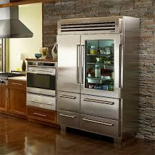 pro 48 refrigerator from sub zero with glass door 1600 popup pro 48 refrigerator